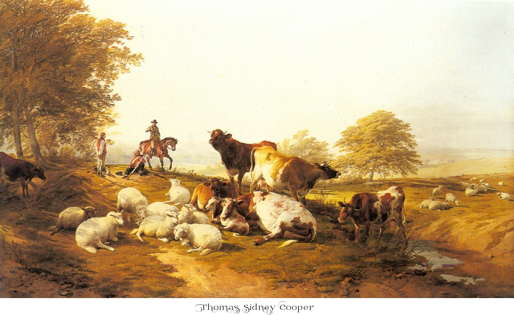 Thomas Sidney Cooper painting